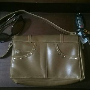 Handbags - Tan leather purse and coin purse